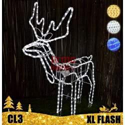 LED dekoracija 3D šviečiantis elnias XL Flash CL3