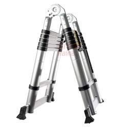 Dvigubos aliumininės teleskopinės kopėčios WH3.2M WORHAN® 320 cm