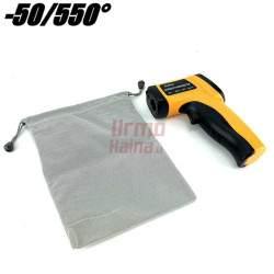 Bekontaktis termometras G550IR | Nuo -50 iki 550°