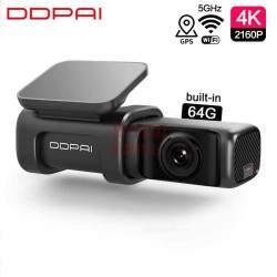 Vaizdo registratotius DDPAI Min i5 4K 2160P 64GB GPS
