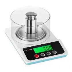 Laboratorinės graminės svarstyklės - 500 g / 0,01 g SBS-LW-500