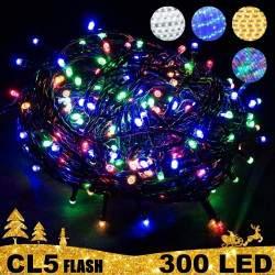 00 LED lempučių girlianda STANDART PLIUS FLASH CL5