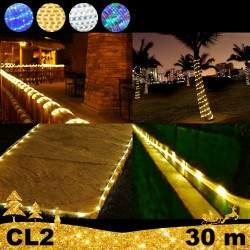 LED Girlianda vamzdelyje Rope 30 m CL2