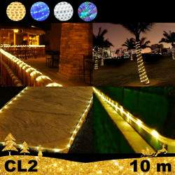 LED Girlianda vamzdelyje Rope 10 m CL2