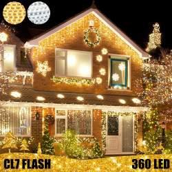 360 LED profesionali lauko girlianda varvekliai E-PRO FLASH CL7