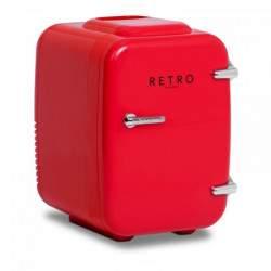 Mini šaldytuvas - 4 L - Raudonas
