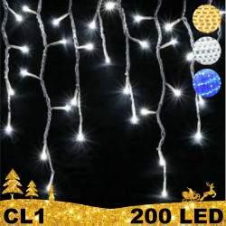 200 LED girlianda varvekliai BULK CL1