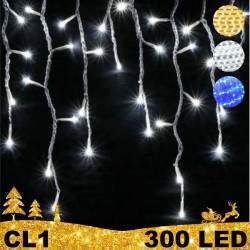 300 LED lauko girlianda varvekliai BULK CL1