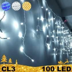 100 LED lauko girlianda varvekliai STANDART CL3