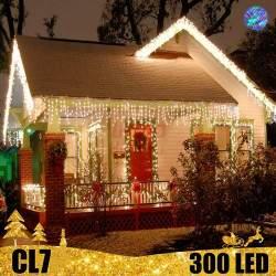 300 LED profesionali lauko girlianda varvekliai PRO CL7