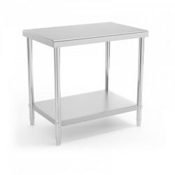 Darbo stalas - 90 x 60 cm - nerūdijantis plienas