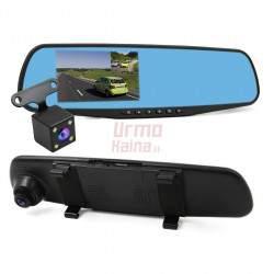 Vaizdo registratorius veidrodis | DVR MIRROR M52K