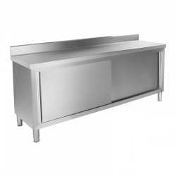Nerūdijančio plieno darbo stalas RCAT-200/60-C 200x60 cm