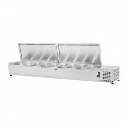 Vitrininis šaldytuvas - Royal Catering - 200 x 39 cm