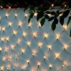 160 LED ECO Girlianda Užuolaida - Tinklas 2,8 x 1 m.