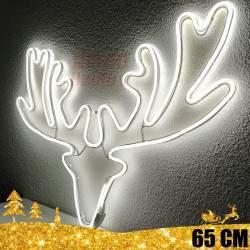 Kalėdinė LED dekoracija Briedis Neon
