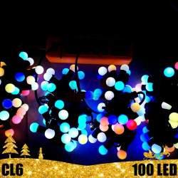 100 LED burbuliukų girlianda RGB SPC 31 V