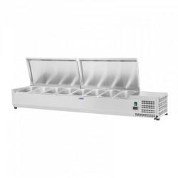 Vitrininis šaldytuvas Royal Catering 180x39 cm