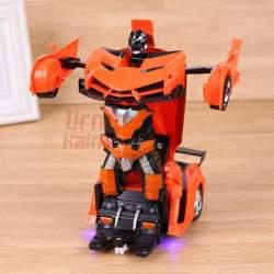 Mašinėlė su valdymo pultu robotas - transformeris Autobot