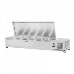 Vitrininis šaldytuvas - Royal Catering - 150 x 39 cm