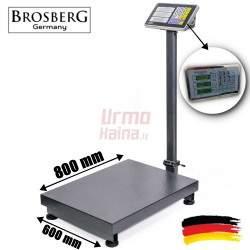 Platforminės svarstyklės Brosberg P1000AXLFM