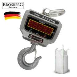 Kraninės svarstyklės Brosberg 3T LED