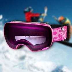 Slidinėjimo akiniai SP Yoho Pink