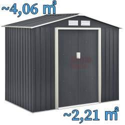 Metalinis surenkamas sandėliukas 2,2 m²