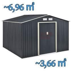 Metalinis surenkamas sandėliukas 3,6 m²