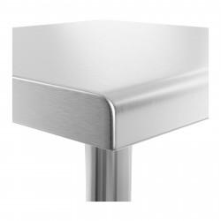 Nerūdijančio plieno darbo stalas RCAT-60/60-NW 60x60 cm