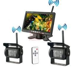Bevielis WiFi monitorius su 2 vaizdo kameromis RVC7