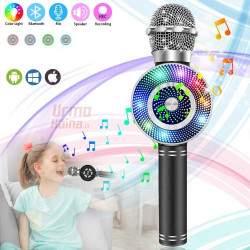 Karaokė mikrofonas su efektais KM669