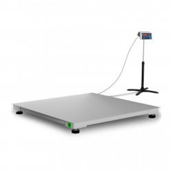 Platforminės svarstyklės su metrologine patikra 1500 kg / 500 g - 120 x 120 cm
