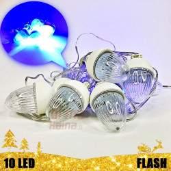 10 LED girlianda Flash CL3