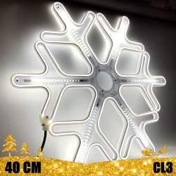 Kalėdinė LED dekoracija Snaigė Neon 40cm