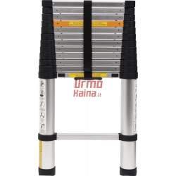 VOREL Kopėčios aliuminės teleskopinės | 13 laiptelių | 3.8 m