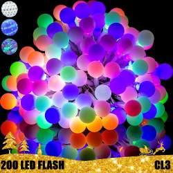 200 LED girlianda burbuliukai STANDART 2 CL3 FLASH