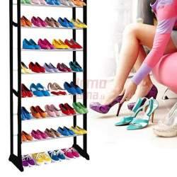 Surenkama daugiaaukštė batų lentyna L30