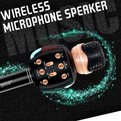 Karaokė mikrofonas su efektais WS1192