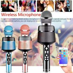 Karaokė mikrofonas su efektais Q8