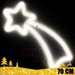 Kalėdinė LED dekoracija Krentanti Žvaigždė 70cm NEON CL3