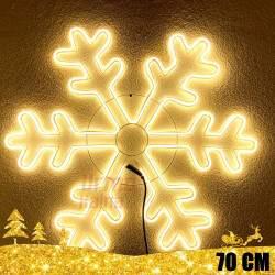 Kalėdinė LED dekoracija Snaigė Neon 70cm CL2