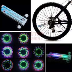 LED efektai dviračio ratams DE32