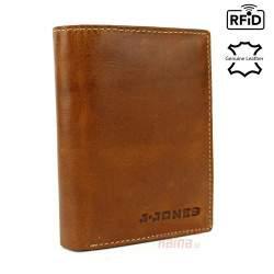 Vyriška odinė piniginė J.JONES 5325