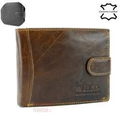 Vyriška odinė piniginė WILD 5503