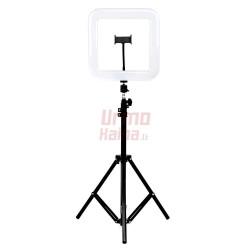Žiedinė LED lempa Square LS28 20W su trikoju stovu