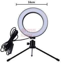 Žiedinė LED lempa LS16 | Makiažo lempa