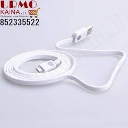 USB laidas krovimui ir duomenų perdavimui, 1.5 m. (PREMIUM) USB/micro USB