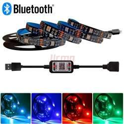LED juostos rinkinys RGB LED su Bluetooth 2M