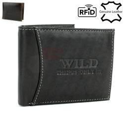 Vyriška odinė piniginė WILD 5504